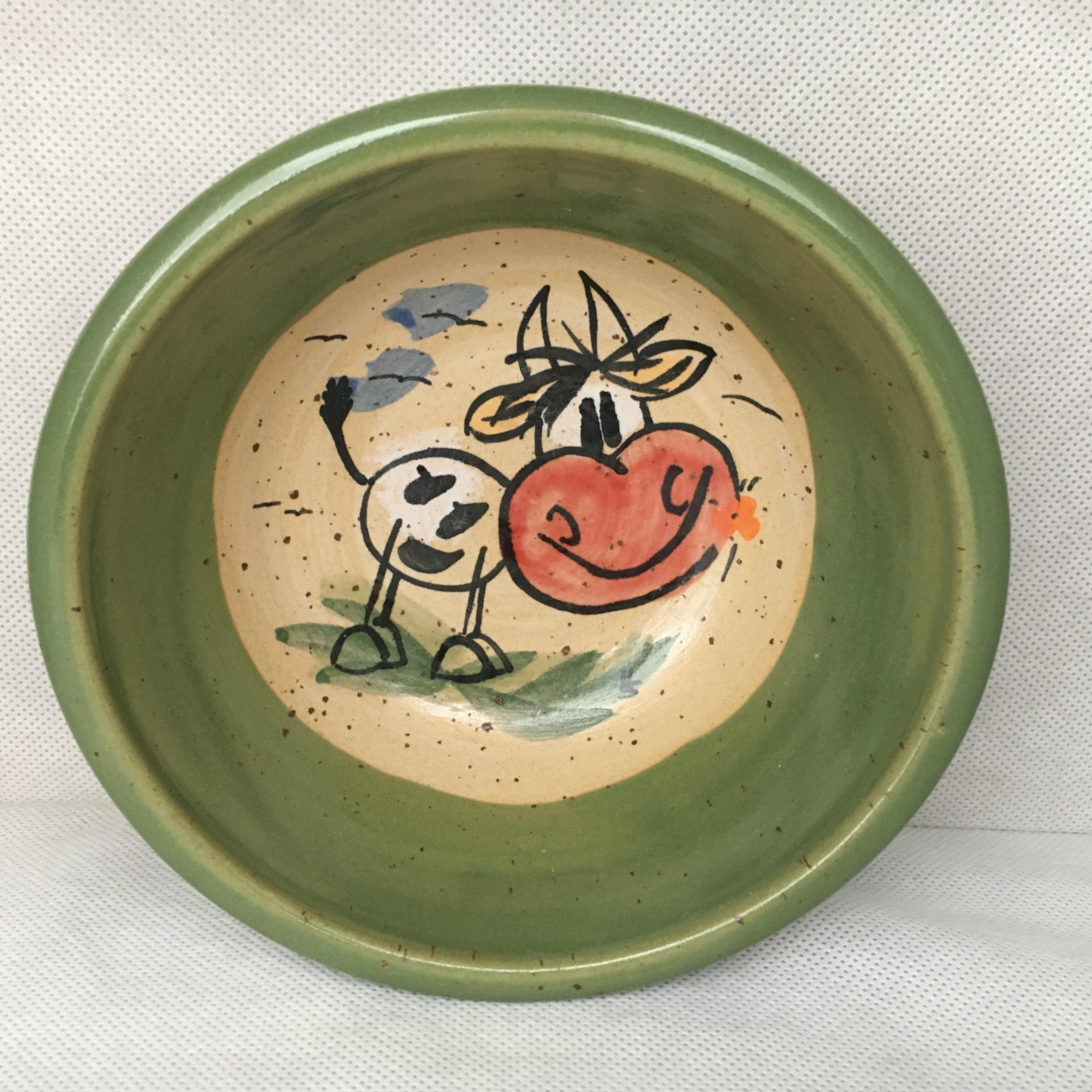 Müslischale Kuh