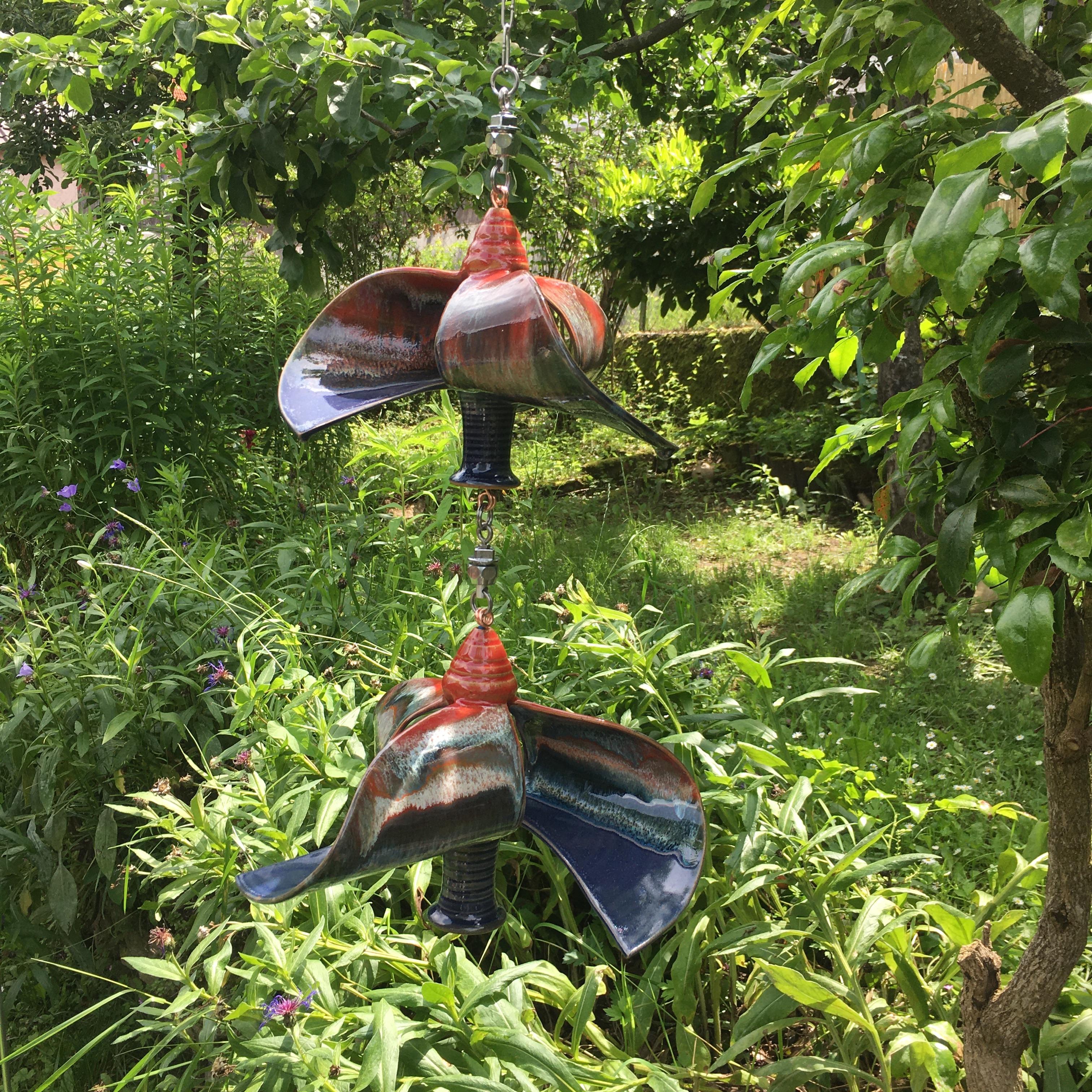 Windspiel Doppelläufer Rot/ Blau