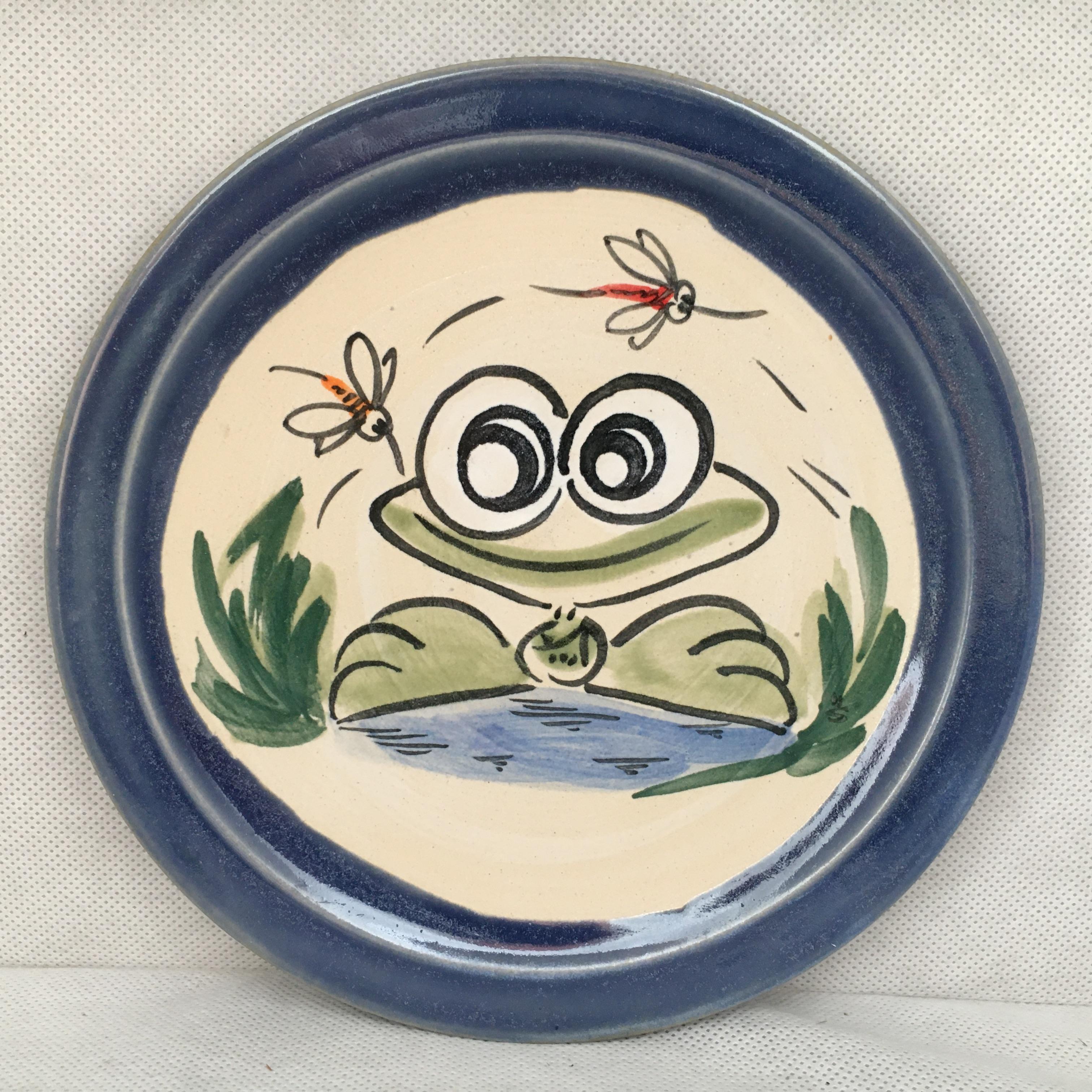 Teller Frosch