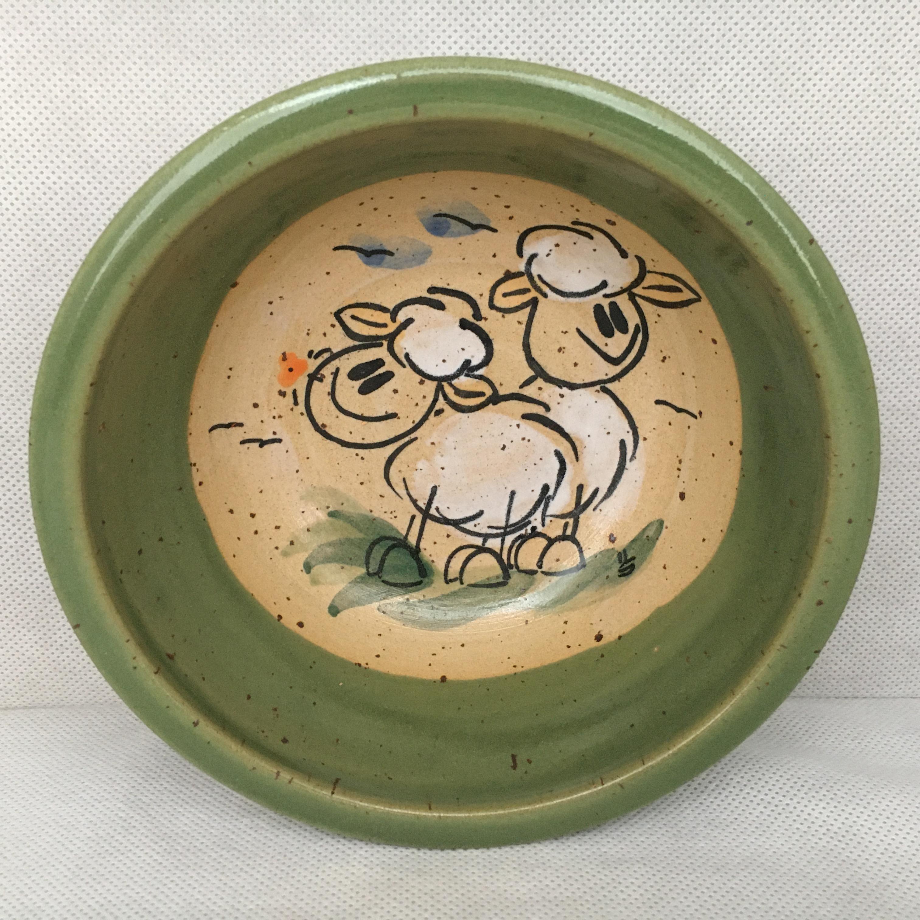 Müslischale Schaf