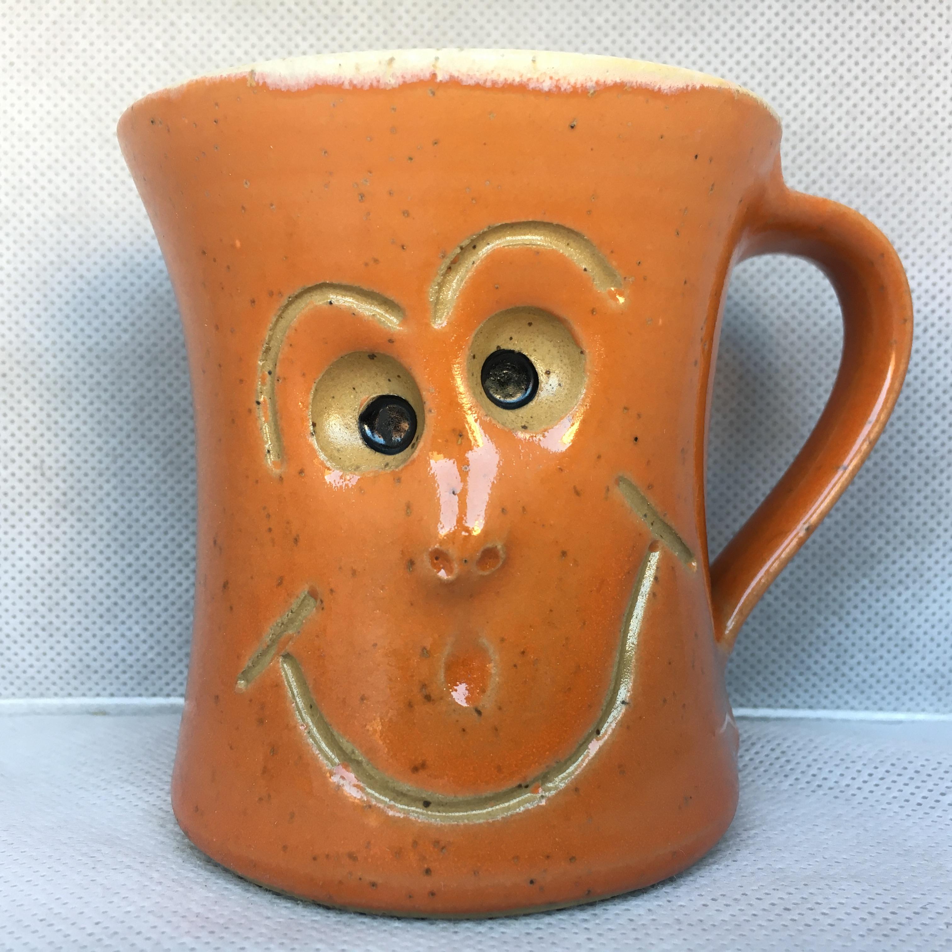 Schmunzel Tasse Orange