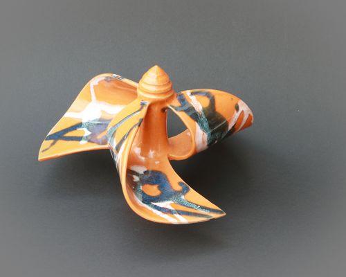 Windmühle stehend orange