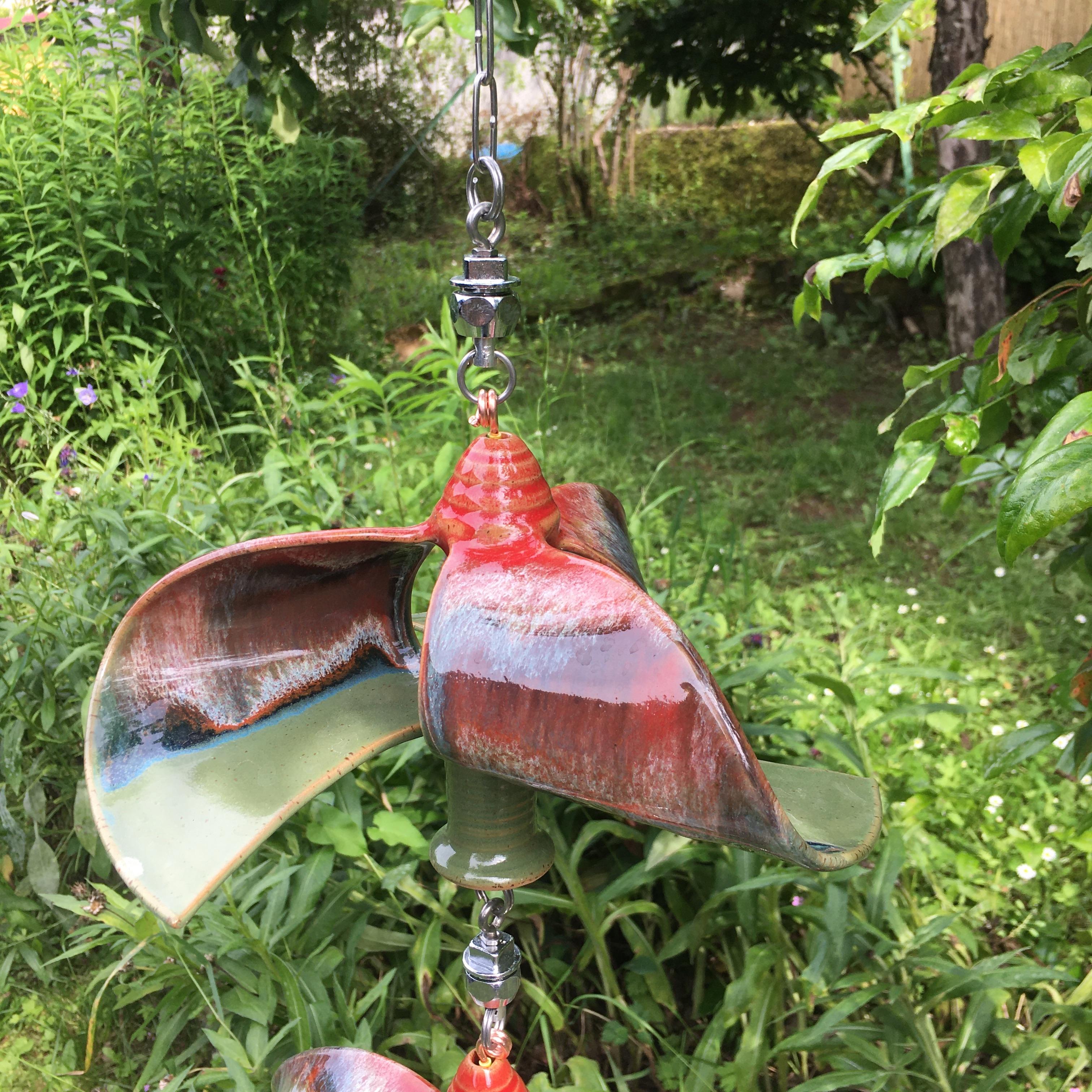 Windspiel Doppelläufer Rot/ Grün